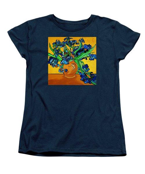 New Blue By You Women's T-Shirt (Standard Cut) by Nora Shepley