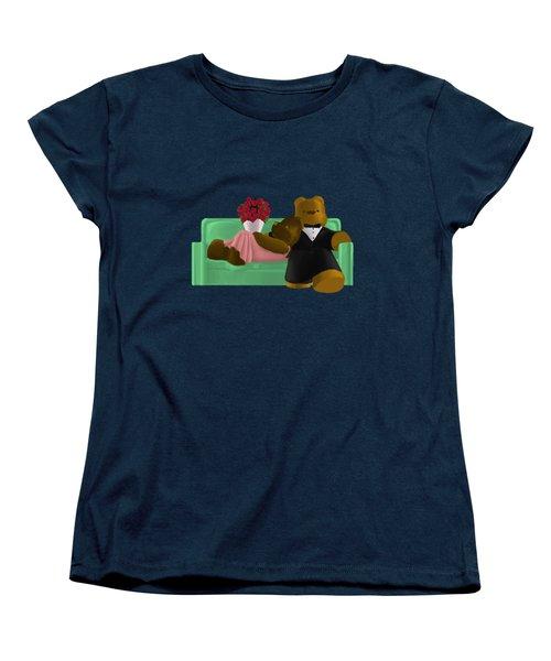 New Couch Women's T-Shirt (Standard Cut) by Jason Sharpe
