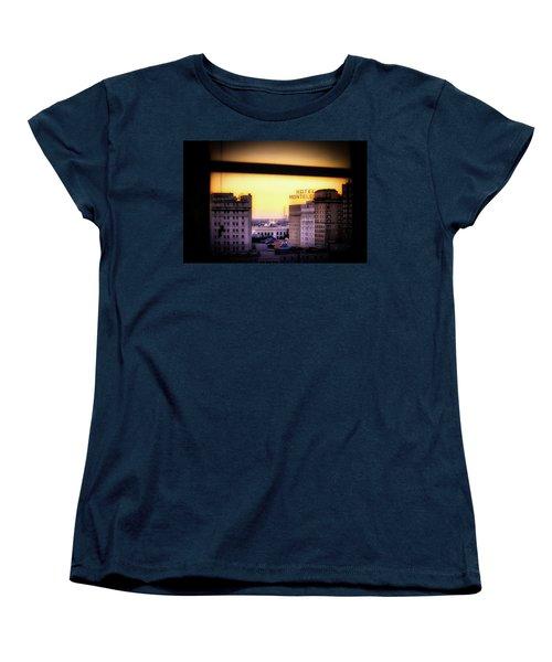 New Orleans Window Sunrise Women's T-Shirt (Standard Cut)