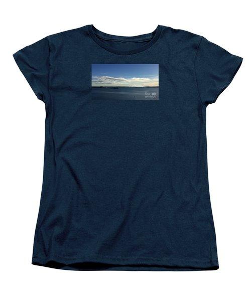 New Year's Day 2016 On Casco Bay, Portland, Maine Women's T-Shirt (Standard Cut) by Patricia E Sundik