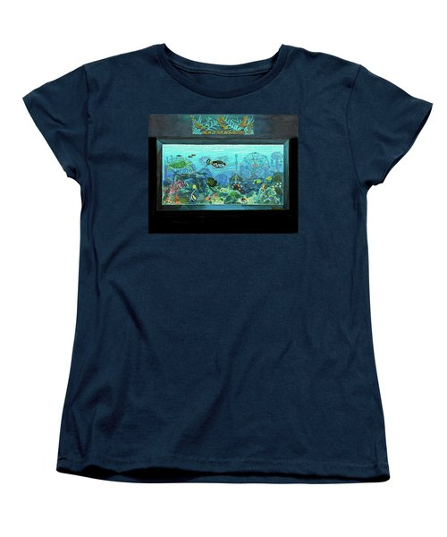 New York Aquarium Women's T-Shirt (Standard Cut) by Bonnie Siracusa