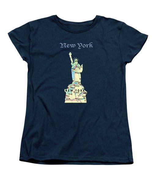 New York Women's T-Shirt (Standard Cut) by Art Spectrum