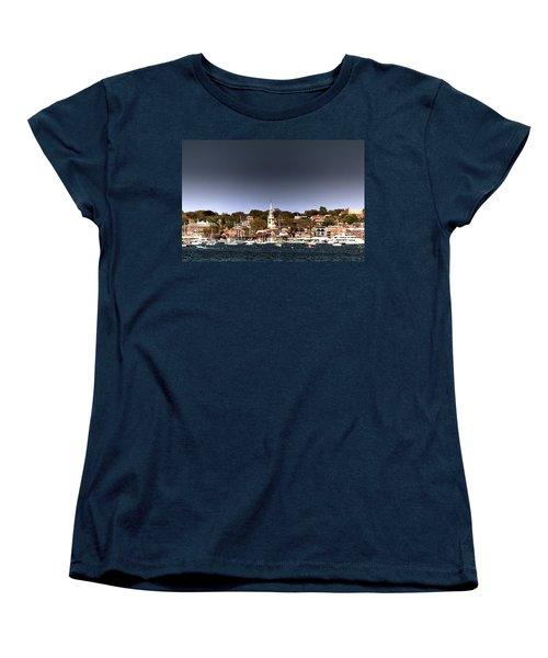 Women's T-Shirt (Standard Cut) featuring the photograph Newport by Tom Prendergast