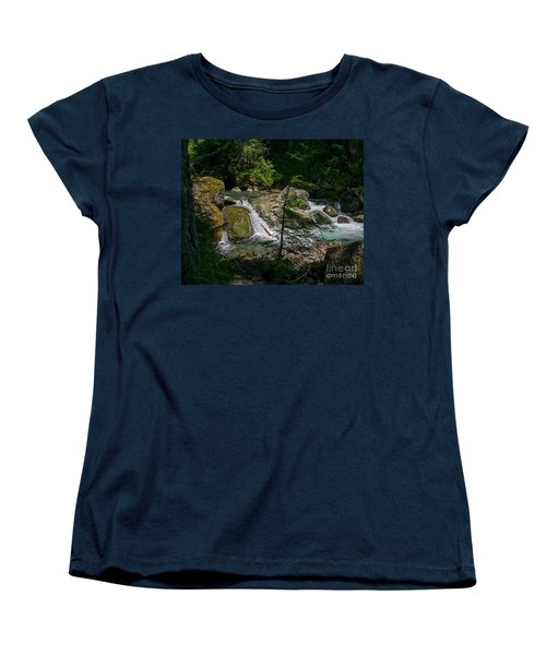 Nickel Creek 0715 Women's T-Shirt (Standard Cut) by Chuck Flewelling