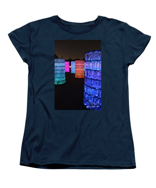 Night Color Women's T-Shirt (Standard Cut) by Natalie Ortiz