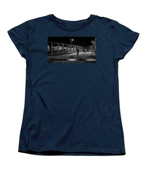 Night Commute  Women's T-Shirt (Standard Cut) by Jeffrey Friedkin