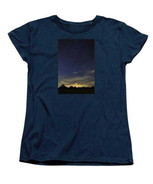 Night Dream Women's T-Shirt (Standard Cut) by Martin Capek