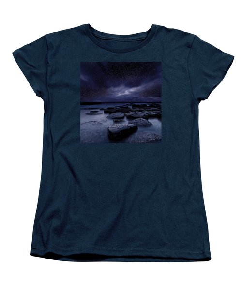 Night Enigma Women's T-Shirt (Standard Cut) by Jorge Maia