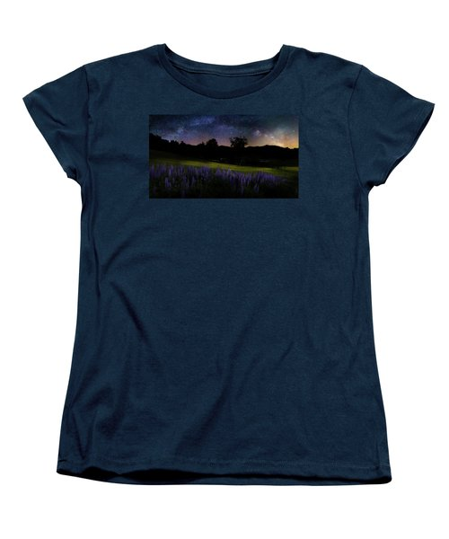Women's T-Shirt (Standard Cut) featuring the photograph Night Flowers by Bill Wakeley