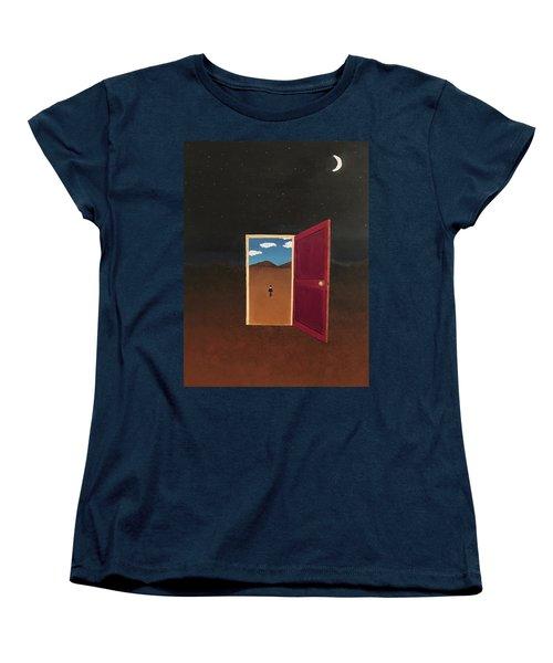 Night Into Day Women's T-Shirt (Standard Cut) by Thomas Blood