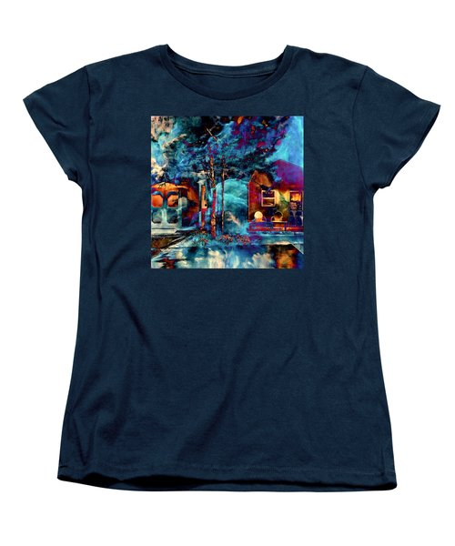 Night Light Women's T-Shirt (Standard Cut) by Theresa Marie Johnson