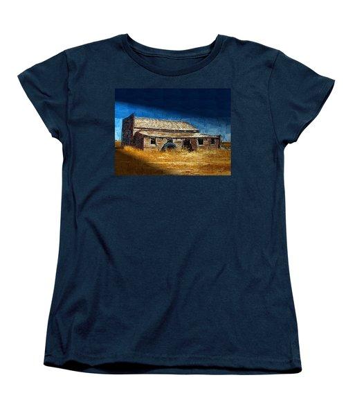 Women's T-Shirt (Standard Cut) featuring the photograph Night Shift by Susan Kinney