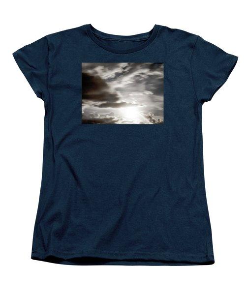 Women's T-Shirt (Standard Cut) featuring the photograph Night Sky 5 by Leland D Howard