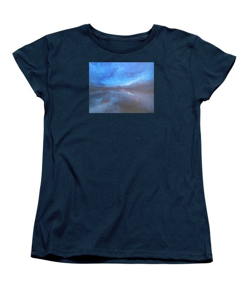 Night Sky Women's T-Shirt (Standard Cut) by Jane See