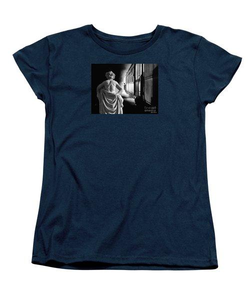 Night Train Women's T-Shirt (Standard Cut) by Lyric Lucas