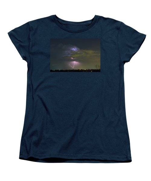 Women's T-Shirt (Standard Cut) featuring the photograph Night Tripper by James BO Insogna