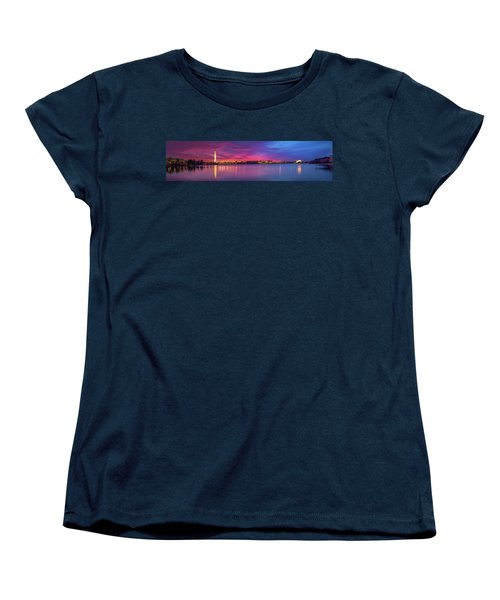Women's T-Shirt (Standard Cut) featuring the photograph Night Unto Day by Edward Kreis
