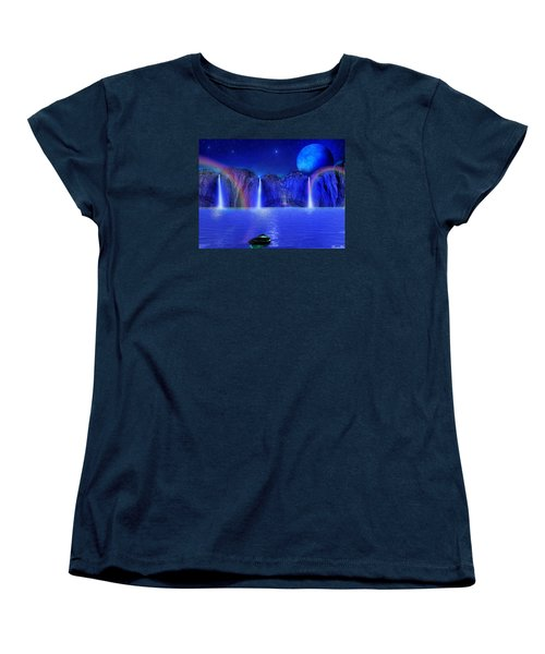 Women's T-Shirt (Standard Cut) featuring the photograph Nightdreams by Bernd Hau