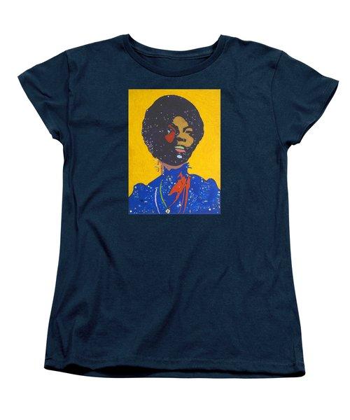 Nina Simone Women's T-Shirt (Standard Cut) by Stormm Bradshaw