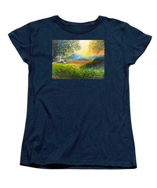 Nixon's Majestic Farm View Women's T-Shirt (Standard Cut)