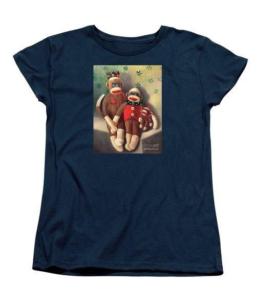 No Monkey Business Here 2 Women's T-Shirt (Standard Cut) by Randy Burns