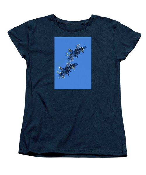 No You're Not Seeing Double Women's T-Shirt (Standard Cut)