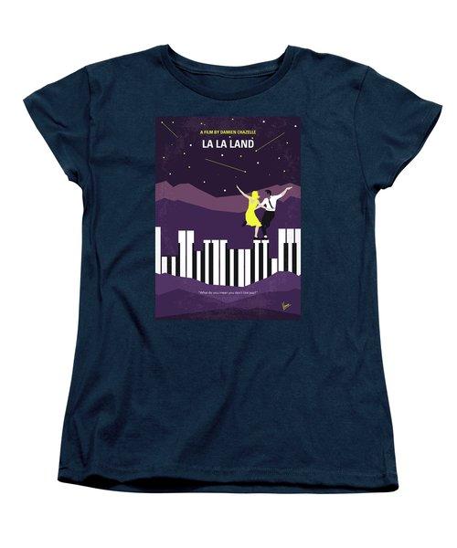 Women's T-Shirt (Standard Cut) featuring the digital art No756 My La La Land Minimal Movie Poster by Chungkong Art