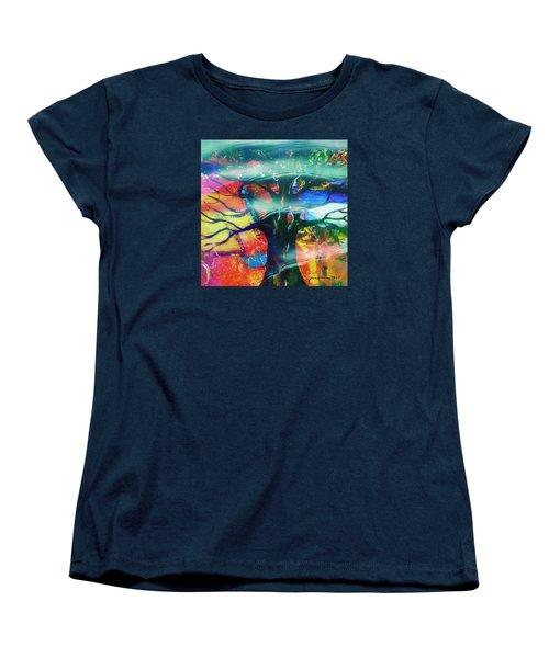 Noel Women's T-Shirt (Standard Cut) by Fania Simon