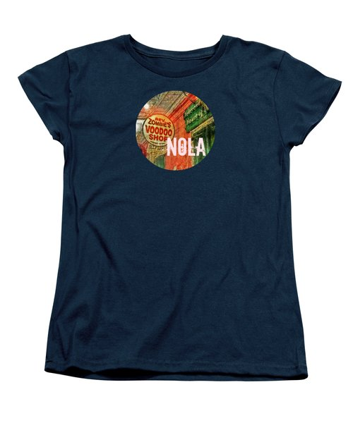 New Orleans Voodoo T Shirt Women's T-Shirt (Standard Cut) by Valerie Reeves