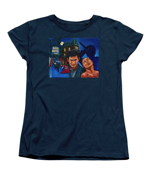 Women's T-Shirt (Standard Cut) featuring the painting Norman by Michael Frank