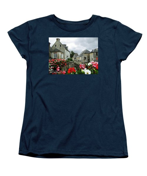 Normandy Arrival Women's T-Shirt (Standard Cut) by Joan  Minchak