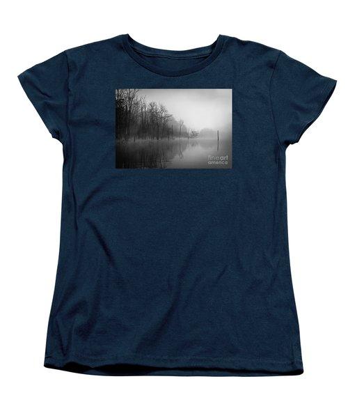 Norris Lake April 2015 3 Women's T-Shirt (Standard Cut) by Douglas Stucky