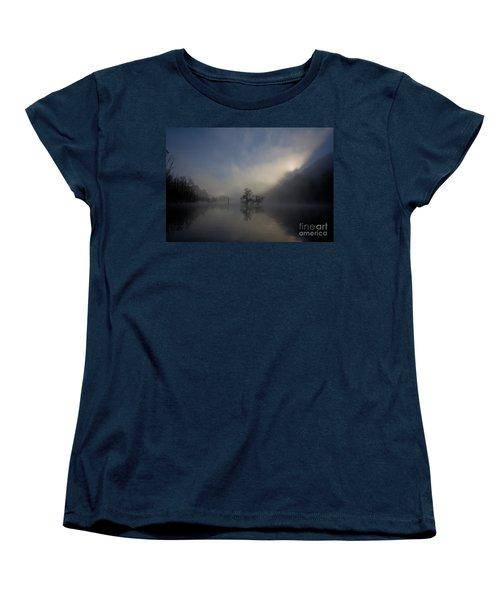Norris Lake April 2015 Women's T-Shirt (Standard Cut) by Douglas Stucky