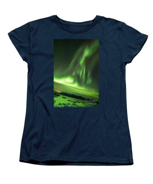 Northern Lights 5 Women's T-Shirt (Standard Cut) by Mariusz Czajkowski