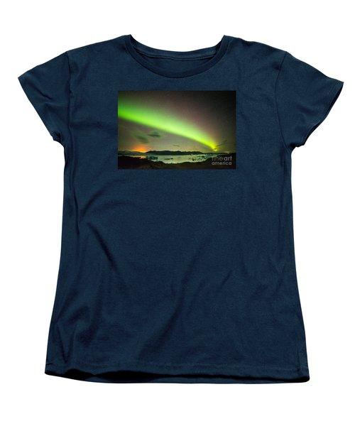 Northern Lights 6 Women's T-Shirt (Standard Cut) by Mariusz Czajkowski