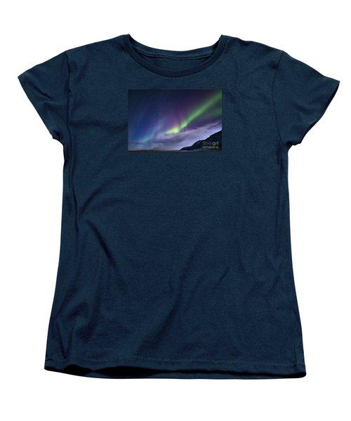 Northetn Lights 6 Women's T-Shirt (Standard Cut) by Mariusz Czajkowski