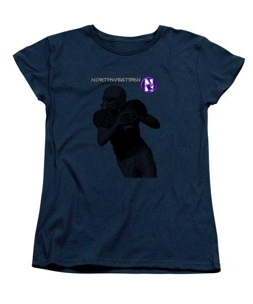 Northwestern Football Women's T-Shirt (Standard Cut)