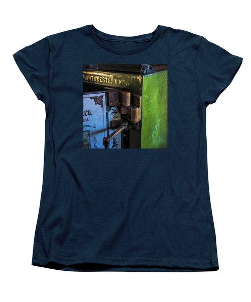 Women's T-Shirt (Standard Cut) featuring the photograph Northwestern Safe by Paul Freidlund