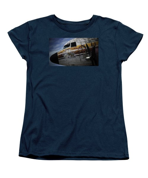 Women's T-Shirt (Standard Cut) featuring the photograph Nose Art by Michael Nowotny
