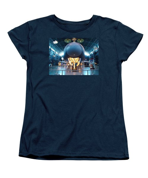 Women's T-Shirt (Standard Cut) featuring the photograph Nose Down - Enterprise by Charles Kraus