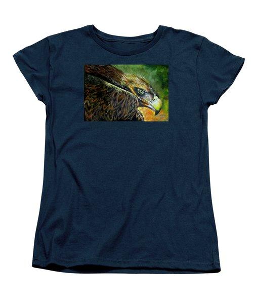 Not Happy Women's T-Shirt (Standard Cut) by Ken Pridgeon