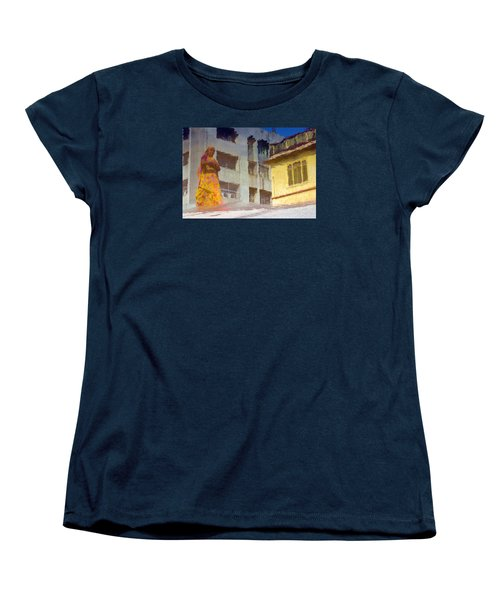 Women's T-Shirt (Standard Cut) featuring the photograph Not Sure by Prakash Ghai