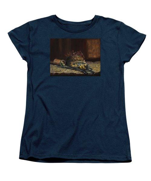 Notions Women's T-Shirt (Standard Cut) by Dorothy Allston Rogers