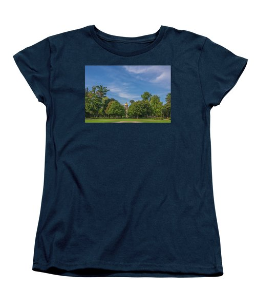 Notre Dame University 6 Women's T-Shirt (Standard Cut) by David Haskett