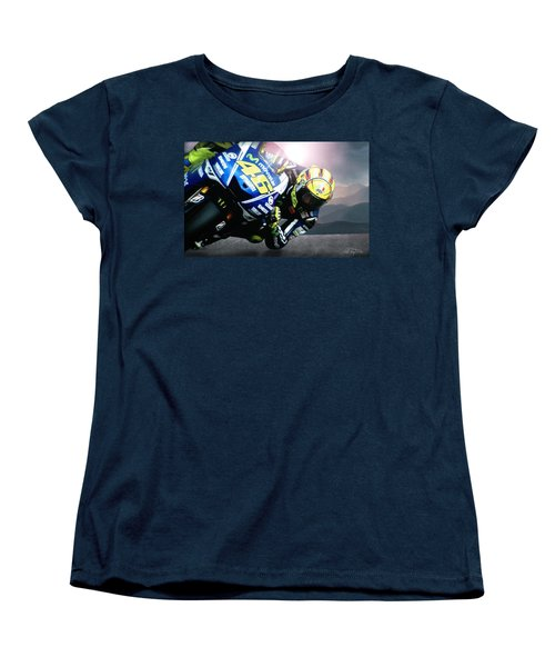 Number 46 Women's T-Shirt (Standard Cut) by Bill Stephens
