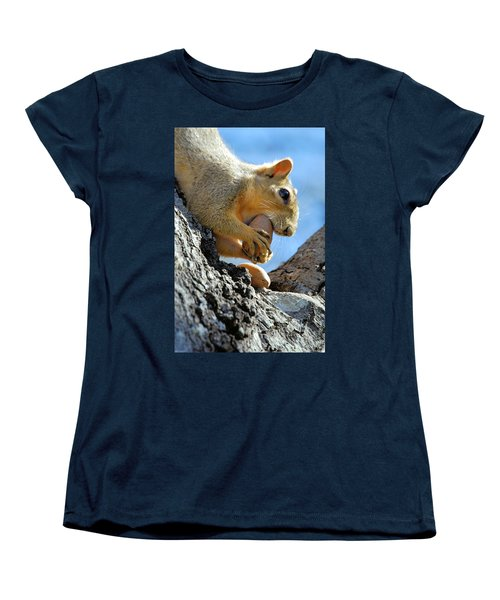 Women's T-Shirt (Standard Cut) featuring the photograph Nutjob by Debbie Karnes