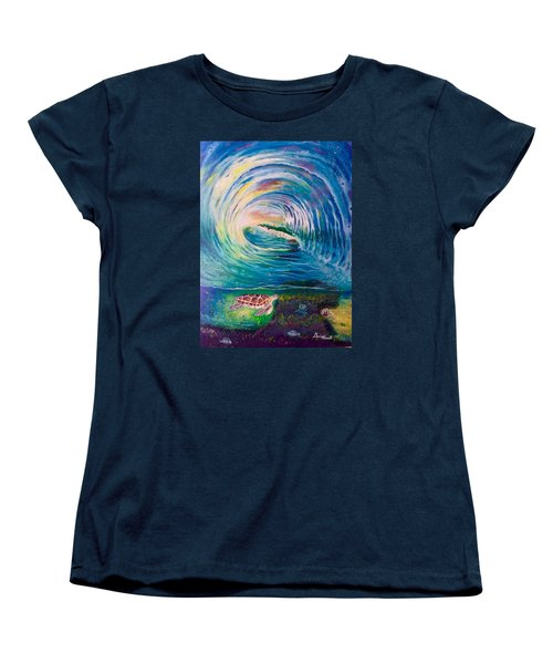 Ocean Reef Beach Women's T-Shirt (Standard Cut)