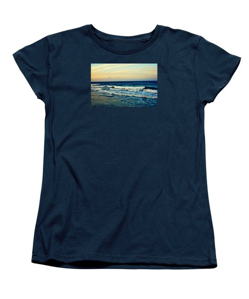 Women's T-Shirt (Standard Cut) featuring the photograph Ocean by Artists With Autism Inc