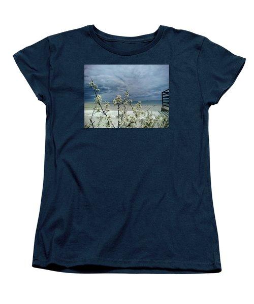 Ocean Spring Women's T-Shirt (Standard Cut) by Robert Nickologianis