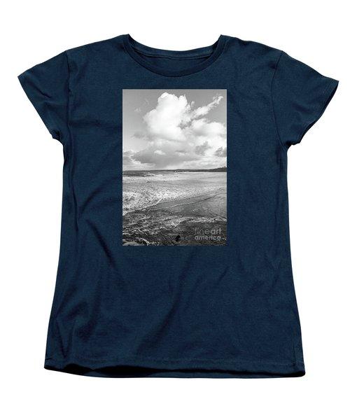 Ocean Texture Study Women's T-Shirt (Standard Cut) by Nicholas Burningham